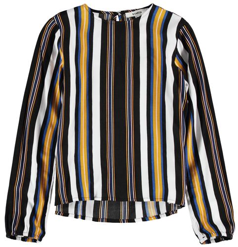 Blouse with stripes - G92433 176